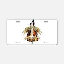 Joan of Arc - Born 2016 Aluminum License Plate