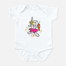 Ballerina Bunny Infant Bodysuit