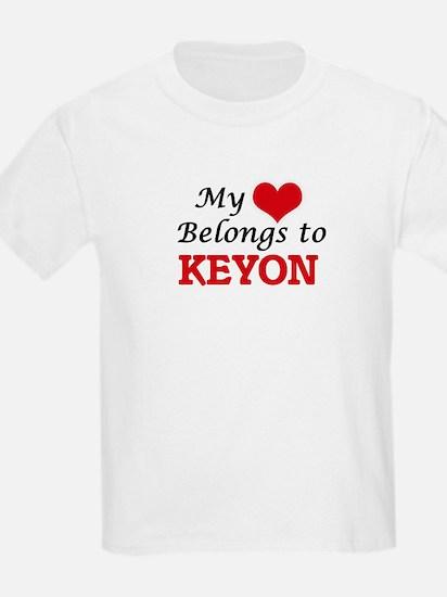 My heart belongs to Keyon T-Shirt