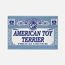 AMERICAN TOY TERRIER Rectangle Magnet