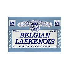 BELGIAN LAEKENOIS Rectangle Magnet (10 pack)