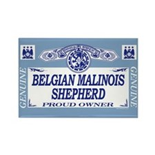 BELGIAN MALINOIS SHEPHERD Rectangle Magnet