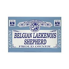 BELGIAN LAEKENOIS SHEPHERD Rectangle Magnet
