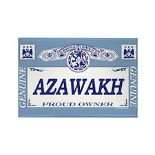 AZAWAKH Rectangle Magnet (10 pack)