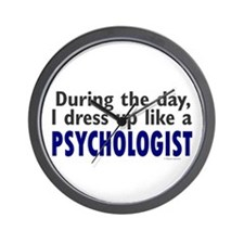 Dress Up Like A Psychologist Wall Clock