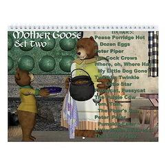 Mother Goose (Set Two) Wall Calendar