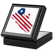Cool Liberia Keepsake Box
