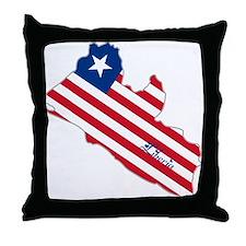 Cool Liberia Throw Pillow