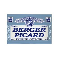 BERGER PICARD Rectangle Magnet (100 pack)