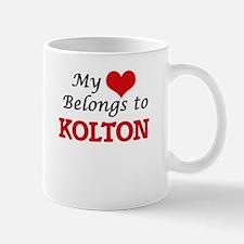 My heart belongs to Kolton Mugs