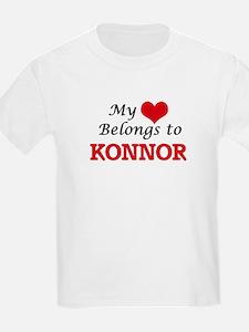 My heart belongs to Konnor T-Shirt