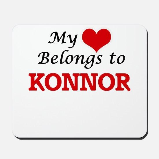 My heart belongs to Konnor Mousepad