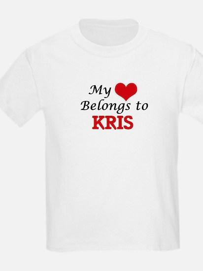 My heart belongs to Kris T-Shirt