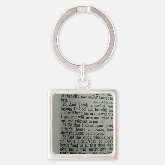 Bible Scripture - Tithes Keychains