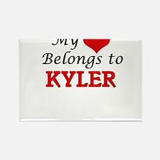 My heart belongs to Kyler Magnets
