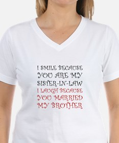 Smile Sister In Law T-Shirt