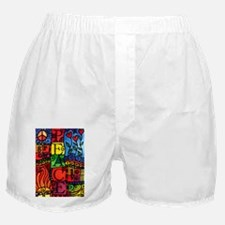 Peace, Love, Grow Boxer Shorts