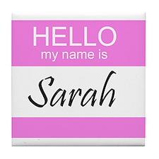 Sarah Tile Coaster