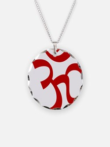 Om - Hindu and Buddhist Symb Necklace