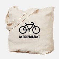 Antidepressant Bike Tote Bag