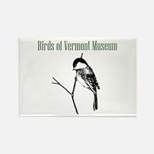Birds of Vermont Museum Rectangle Magnet