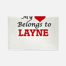 My heart belongs to Layne Magnets
