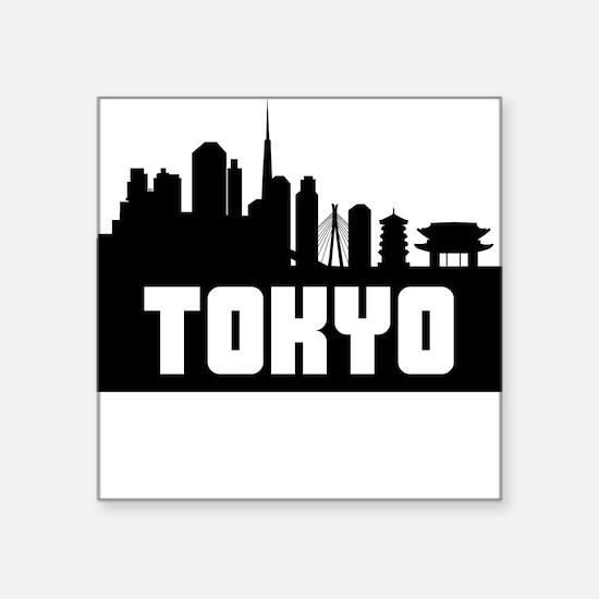 Tokyo Japan Skyline Sticker