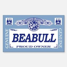 BEABULL Rectangle Decal