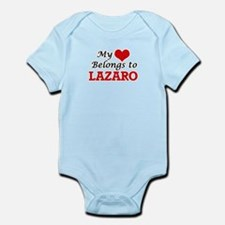 My heart belongs to Lazaro Body Suit