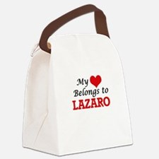 My heart belongs to Lazaro Canvas Lunch Bag