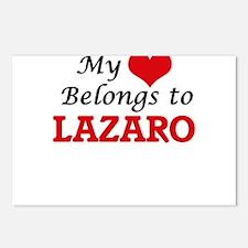 My heart belongs to Lazar Postcards (Package of 8)