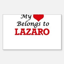My heart belongs to Lazaro Decal