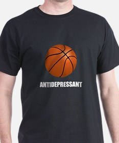 Antidepressant Basketball T-Shirt