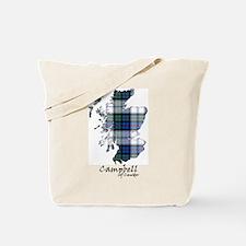 Map-CampbellCawdor dress Tote Bag