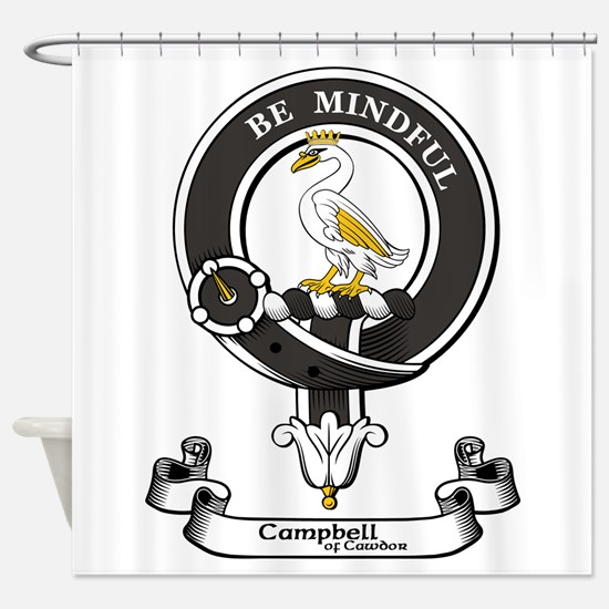 Badge - Campbell of Cawdor Shower Curtain