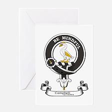 Badge - Campbell of Cawdor Greeting Card
