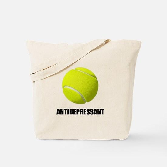 Antidepressant Tennis Tote Bag