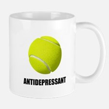 Antidepressant Tennis Mugs