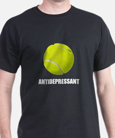 Antidepressant Tennis T-Shirt