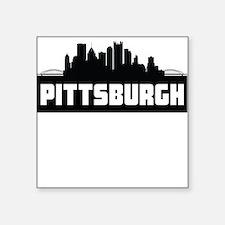 Pittsburgh Pennsylvania Skyline Sticker