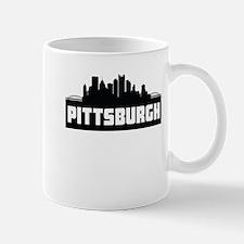 Pittsburgh Pennsylvania Skyline Mugs