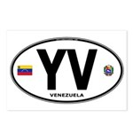 Venezuela Euro Oval Postcards (Package of 8)