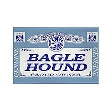 BAGLE HOUND Rectangle Magnet