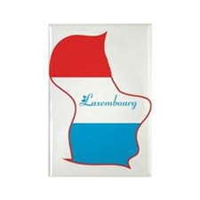 Cool Luxembourg Rectangle Magnet
