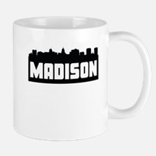 Madison Wisconsin Skyline Mugs