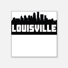 Louisville Kentucky Skyline Sticker