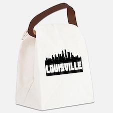 Louisville Kentucky Skyline Canvas Lunch Bag