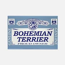 BOHEMIAN TERRIER Rectangle Magnet