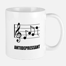 Antidepressant Music Mugs