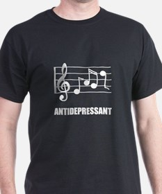 Antidepressant Music T-Shirt